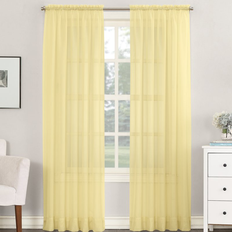 emily+solid+sheer+rod+pocket+single+curtain+panel